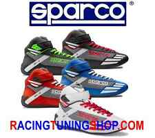 Scarpe Kart SPARCO Mercury Kb-3 rosse Karting Shoes Boots Kartschuhe Chaussures 38