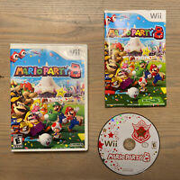 Mario Party 8 (2007) Nintendo Wii - Complete w/ Manual - TESTED and WORKING!