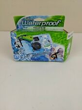 Fujifilm Quick Snap Waterproof 27 exp. 35mm Camera 800 film,Blue/Green/white,...