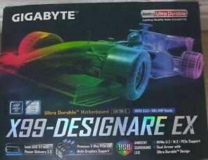 Gigabyte X99 Designare Ex, Intel core i7-5930k, 16GB DDR4 Crucial