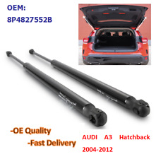 Pair For Audi A3 8PA 2004-2012 Tailgate Boot Lift Support Gas Struts 531 MM New