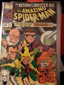 Marvel Comic The Amazing Spider-Man #337 Return of Sinister Six LARSEN Hobgoblin