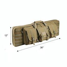 "3S Tactical Double Padded Carbine Rifle Range Gun Case Soft Bag 36"""