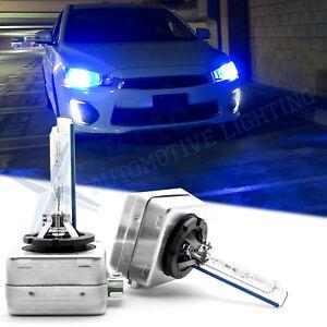 8000k D3 D3S HID Xenon Headlight Bulbs Kit High Low Beam Direct Upgrade Headlamp