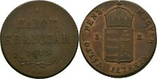 3 Krajcar 1849 Ungarn Nagybanya Revolution und Freiheitskampf, 1848-1849 #ZK138