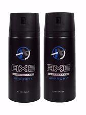 New Axe Anarchy Deodorant for Men 150ml x2 Body Spray Lynx