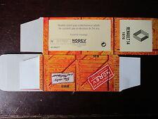 BOITE VIDE NOREV    RENAULT  14  1976 EMPTY BOX CAJA VACCIA