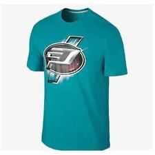 Jordan Shirt 632237-309 Bluegreen Small Mens Drifit CP3 Emblem jeptall