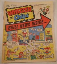 Whizzer and Chips : June 1987 : Vintage UK Comic