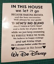 Disney film Quotes Wall Art Home Decor/Wall decals