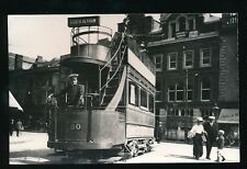 Devon Plymouth TRAM #80 at St Andrews Cross c1910/30s? photograph by O'Connor