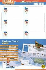 Decadry SCB-2072 Business Cards Pixels Theme Make Your Own Business Cards