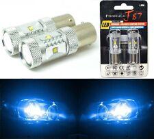 LED Light 30W 1156 Blue 10000K Two Bulbs Rear Turn Signal Replace Show Use JDM