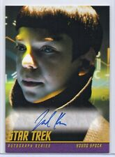 JACOB KOGAN as Young Spock / Star Trek Beyond (2017) Trading Card Autograph