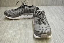 Hoka One One Clifton 5 Knit 1094309 Running Shoes, Men's Size 10, Gray