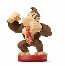 Amiibo Super Mario Series Figure Donkey Kong Japan Game Nintendo Wii U 3ds