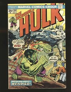 Incredible Hulk # 180 Marvel Value Stamp intact 1st Wolverine cameo VG/Fine Cond
