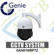 Genie GAHD18IRPTZ AHD Mini IR High Speed Dome Camera 18x Optical Zoom 1080p CCTV