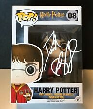 Harry Potter Funko Pop Signed by Daniel Radcliffe - Harry Potter with Snitch