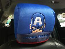 Captain America Marvel Avengers Car Accessory 1 piece Head Rest Head Seat Cover