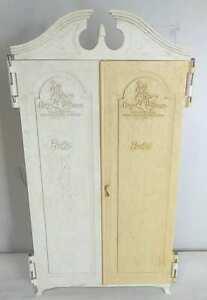 Vintage SUSY GOOSE Barbie Wardrobe Armoire Furniture Clothes Closet