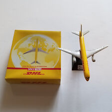 Boeing 757-200 Diecast Airplane 1:400 DHL Cargo ALL METAL Pad Printed w/ Stand
