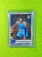JA MORANT OPTIC SILVER PRIZM ROOKIE CARD HOLO RC GRIZZLIES SP 2019-20 Donruss rc