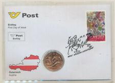 5 Euro Numisbrief öSTERREICH  - Nba27b-Ski Wm 2013 Schladming  Eiamaya