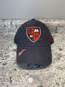St. Lawrence University Saints Adjustable Strap Hat Cap Gray/Red NEW Russell