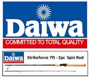 Daiwa Strikeforce Spinning Fishing Rod 7ft / 2.1m - 2pc - comparable to Shimano