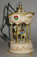 Hallmark Keepsake Ornament Tobin Fraley Holiday Carousel MAGIC Light & Music