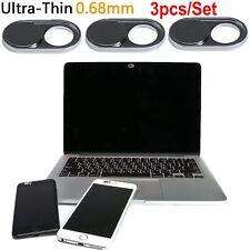 0.03 Zoll ultra dünnes 3 Satz, iRish WebCam Abdeckungs-Schutz für Laptop iphone