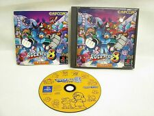 ROCKMAN 8 Metal Heroes Megaman Item ref/ccc PS1 Playstation Japan Game p1