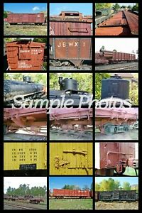 No Frills CD Prototype Picture Guide to D&RGW Freight Car Details 800+ Pictures