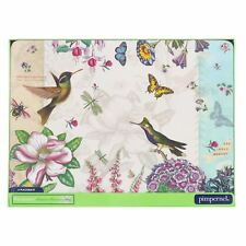 Pimpernel Set of 6 Placemats Botanic Hummingbird Flowers Dining Table Dinner