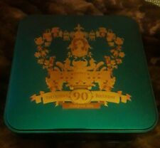 The Queen's 90th Birthday 11th June 2016 Commemorative M&S biscuit tin VGC