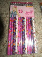 Jojo Siwa Back to School 12 Pack Pencils with Erasers New
