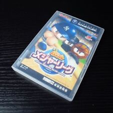 Jikkyou Pawafuru Major League: Nintendo GameCube JAPAN NTSC-J W/Manual#0301