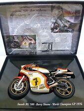 Minichamps 1/12 - Barry Sheene - Suzuki RG500 - 1976 - World Champion