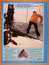 1978 Sperry Top-Sider Boat Shoes sailing sailor photo vintage print Ad