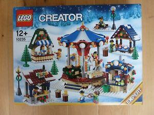 LEGO CREATOR 10235 WINTER VILLAGE MARKET NEW IN BOX