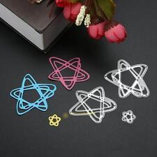 3 Stars Metal Cutting Dies Stencils DIY Scrapbooking Embossing Paper Card Craft