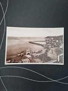 Vintage Photographic Postcard-St Aubins Bay, Jersey-Stamped(Date unknown) (KD6)
