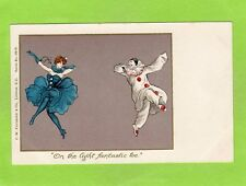 Pierrot Dance on the light fantastic toe  pc unused Falkner 109E Ref E899