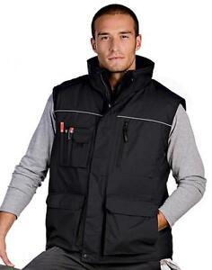 Arbeitsweste Weste Arbeitsjacke Workwear Bodywarmer Gr. XS-4XL *in 5 Farben*
