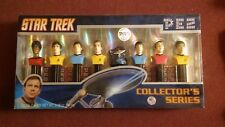 2008 Star Trek Pez Collector's Limited Edition Series Set ~ 8 Pez Holders ~ New!