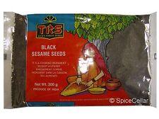 Black Sesame Seeds / Till Seeds - 300g Bag - TRS Brand