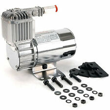 VIAIR 100C 12-Volt 130-PSI Chrome Air Compressor Kit w/ Omega Mounting Bracket