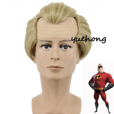 The Incredibles Bob Parr Mr. Incredib Cosplay Wig Short male Costume Party Wig