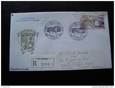 TAAF lettre 1er jour 10/12/87 - timbre - yvert et tellier aerien n°102 (cy6)